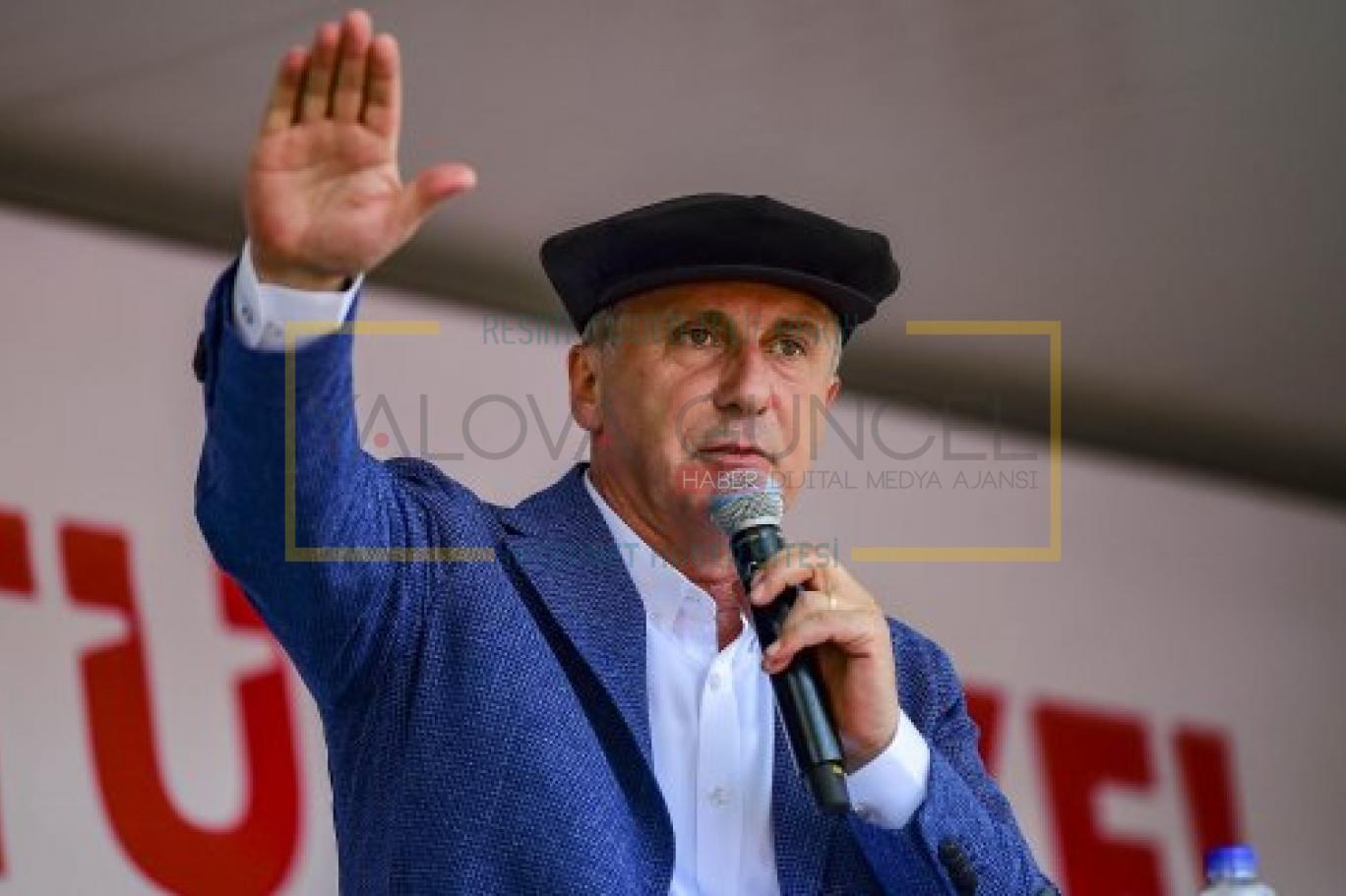 Muharrem İnce 'Memleket Hareketi' için Iğdır , Ardahan ve Kars'ta